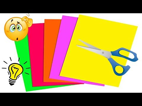 10 DIY Paper Craft Ideas With Colored | Paper Craft Ideas