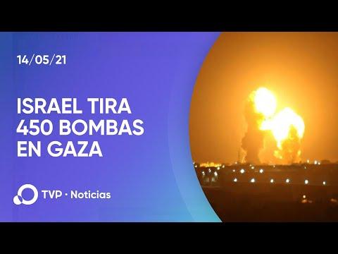 Israel intensifica su ofensiva en Gaza con 450 bombas