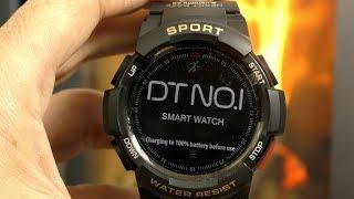 IL MIGLIOR RUGGED WATCH CHE ABBIA PROVATO!!! No 1 F6 smartwatch recensione in italiano