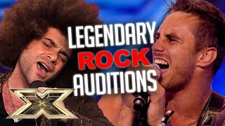 ROCK AUDITIONS LIKE NO OTHER! | The X Factor UK