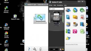 شرح تنصيب + طريقة عمل برنامج Nokia PC Suite