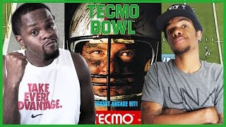 ONE OF THE FIRST FOOTBALL GAMES EVER! - #ThrowbackThursday | Tecmo Bowl Gameplay