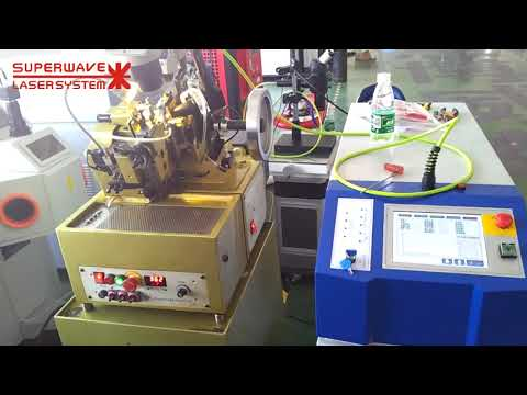 Double Curb Chain Making Machine with Chain Laser Welder