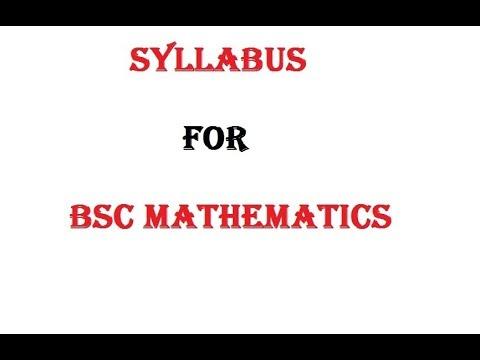 BSC 1st year syllabus