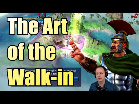Civilization Revolution - The Art of the Walk-in