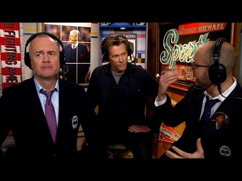 Kevin Bacon joins the Men in Blazers