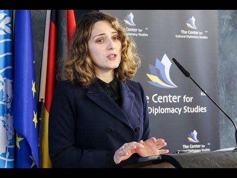 Dudana  Mazmanishvili  (The Cultural Counsellor at the Embassy of Georgia; Renown Pianist)