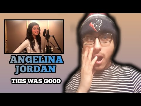 REACTING TO ANGELINA JORDAN - I HAVE NOTHING (WHITNEY HOUSTON TRIBUTE)