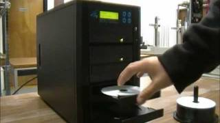 M-5 Standalone Manual CD DVD Blu-Ray Duplicator 5 CD DVD Blu-Ray Drives