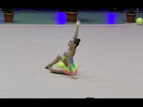 """Gimnastyka artystyczna: Magdalena Karcz - PTG """"Sokół"""" Kraków - DMP Rumia 2017"""