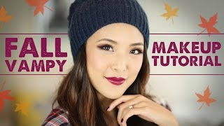 TUTORIAL: Fall Vampy Makeup Thumbnail