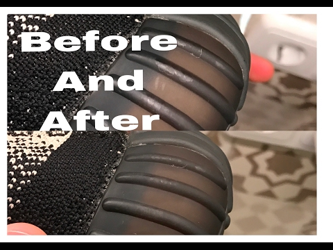 How to clean scuffs and marks from YEEZY BOOST 350 V2