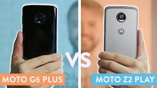 Moto G6 Plus vs Moto Z2 Play   Comparativo!
