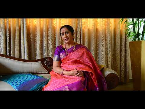 Aruna Sairam's most prized sari