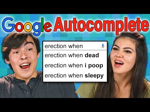 Thumbnail: GOOGLE AUTOCOMPLETE GAME (REACT: Gaming)