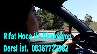 Eda Hanım Trafik Korkusunu Yendi  (Rıfat Hoca İle Özel Direksiyon Dersi İstanbul 05367722982)