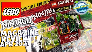 Lego Ninjago magazine reviews April 2021