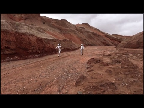 """LIVE: Take a jaunt to the Red Planet, at China's first """"Mars Village"""""""