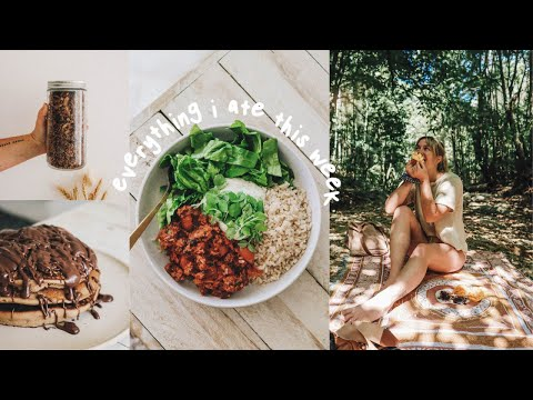 what i eat in a week as a vegan... but make it a vlog 🧚‍♀️🥭🍝