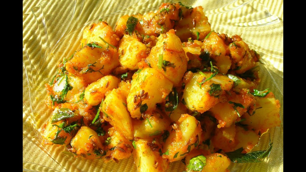 recipe boiled potato sabzi gujrati youtube