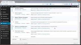 Курс WordPress-Профессионал видео презентация