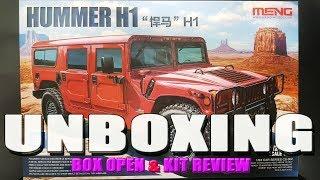 [언박싱] MENG-MODLEL Hummer H1 w/…