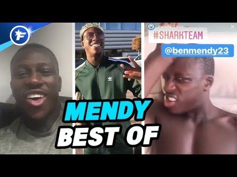 Le Best OF de Benjamin Mendy sur les réseaux sociaux