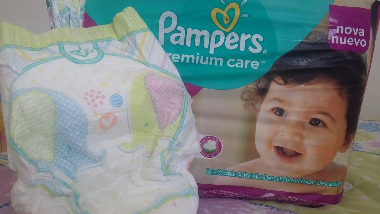 Resenha Nova Pampers Premium Care 2016 lançamento - YouTube