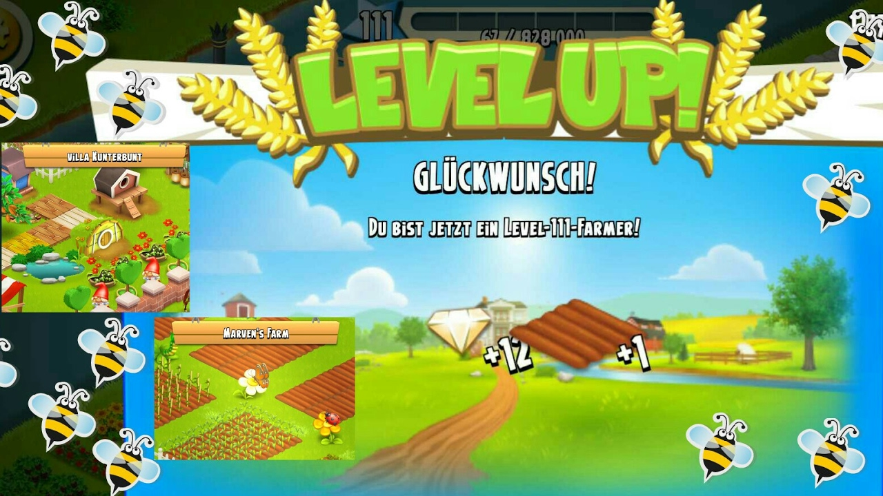 Hay Deutsch Lets Play Hay Day Deutsch Level Up 111 ☺ Farm Show Villa