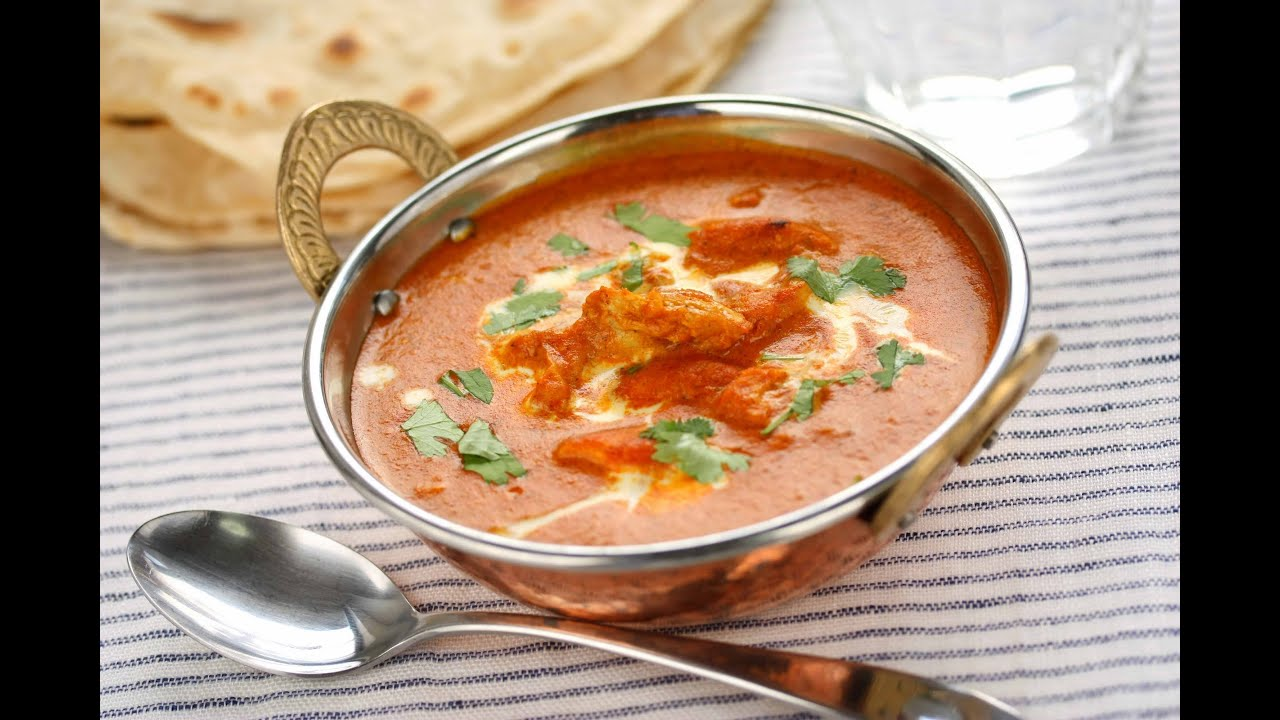 Indian butter chicken murgh makhani youtube forumfinder Image collections