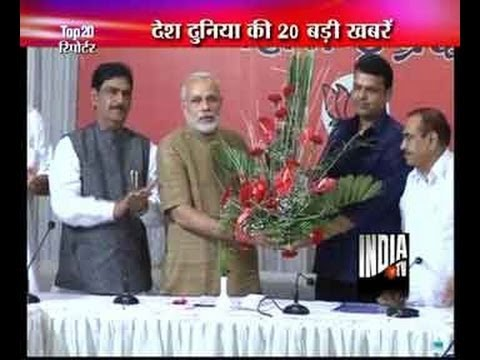 Narendra Modi meets Uddhav Thackeray