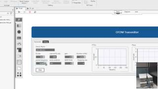 Streaming OFDM Transmitter and Receiver