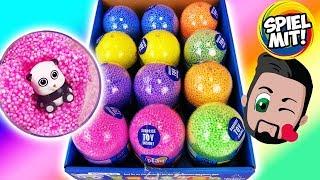 *NEU* 12 Wolken Schleim Ü-Eier auspacken! Foam Clay PALS Surprise Eggs Deutsch - Mit Sammelfiguren