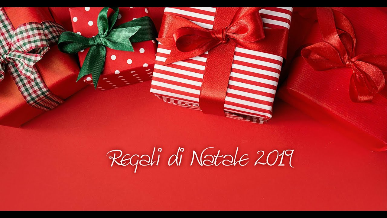 Regali di Natale 2019 - YouTube