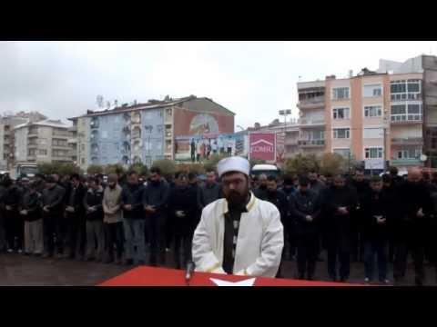Karaman'da Halep İçin Gıyabi Cenaze Namazı