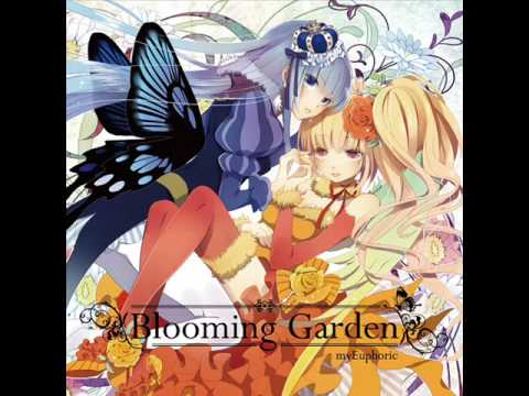 Blooming Garden  花たん×もんちー  4.pousse cafedouble knit mix