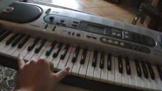 How to play the saw theme hello zepp on the piano - tutorial