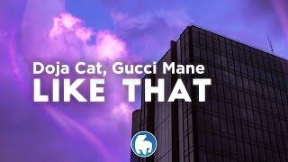 Doja Cat - Like That (Clean - Lyrics) ft. Gucci Mane