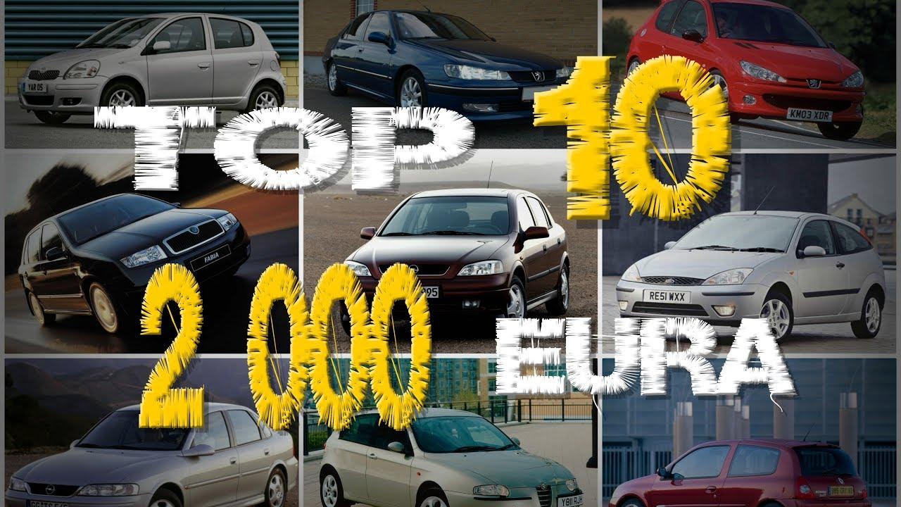 Najbolji Auto Do 2 000