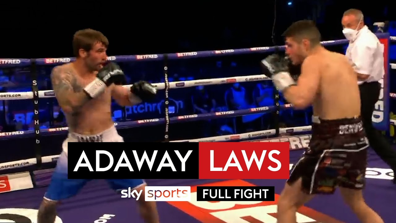 Confident performance! | Joe Laws vs Chris Adaway | Full Fight