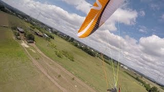 Super Lowsave Paragliding flight.