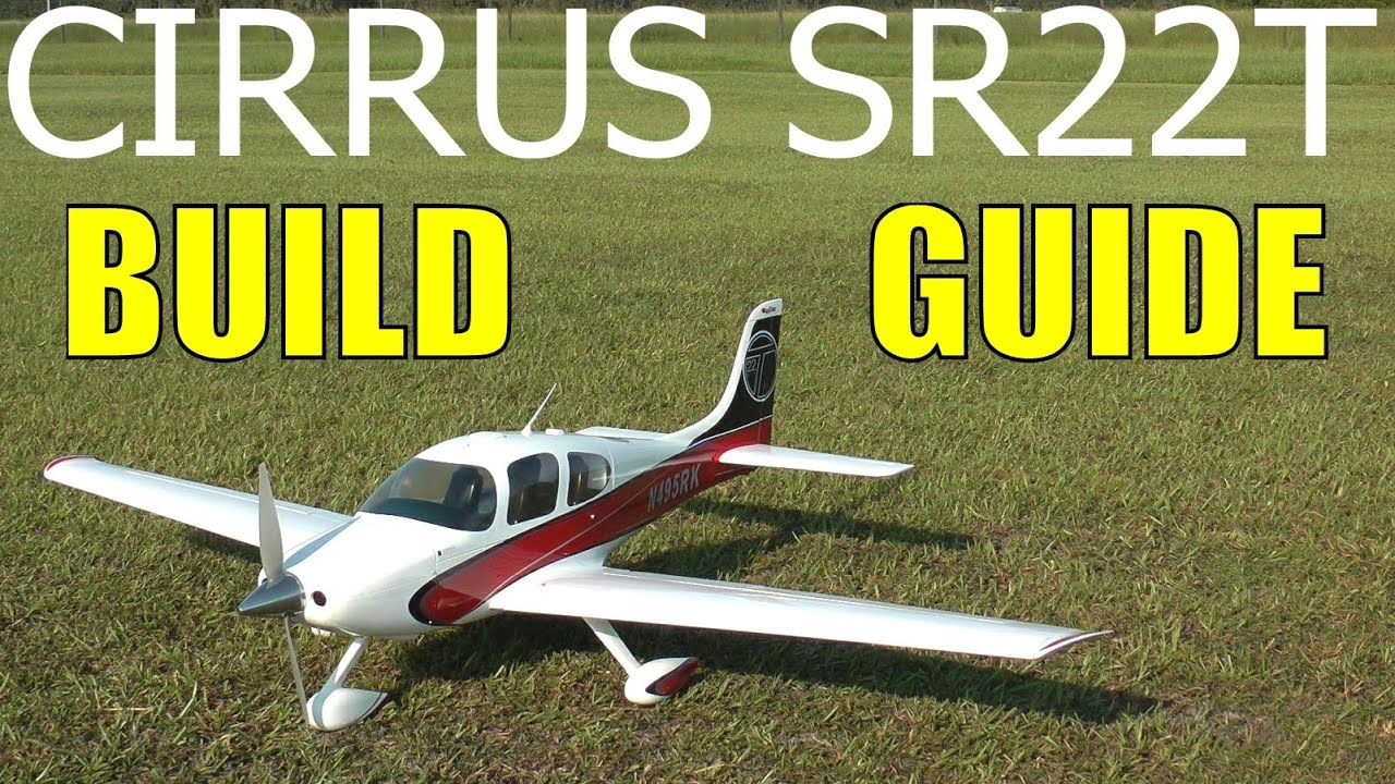 great planes cirrus sr22t build guide in hd by rcinformer part 2 of 3 [ 1280 x 720 Pixel ]