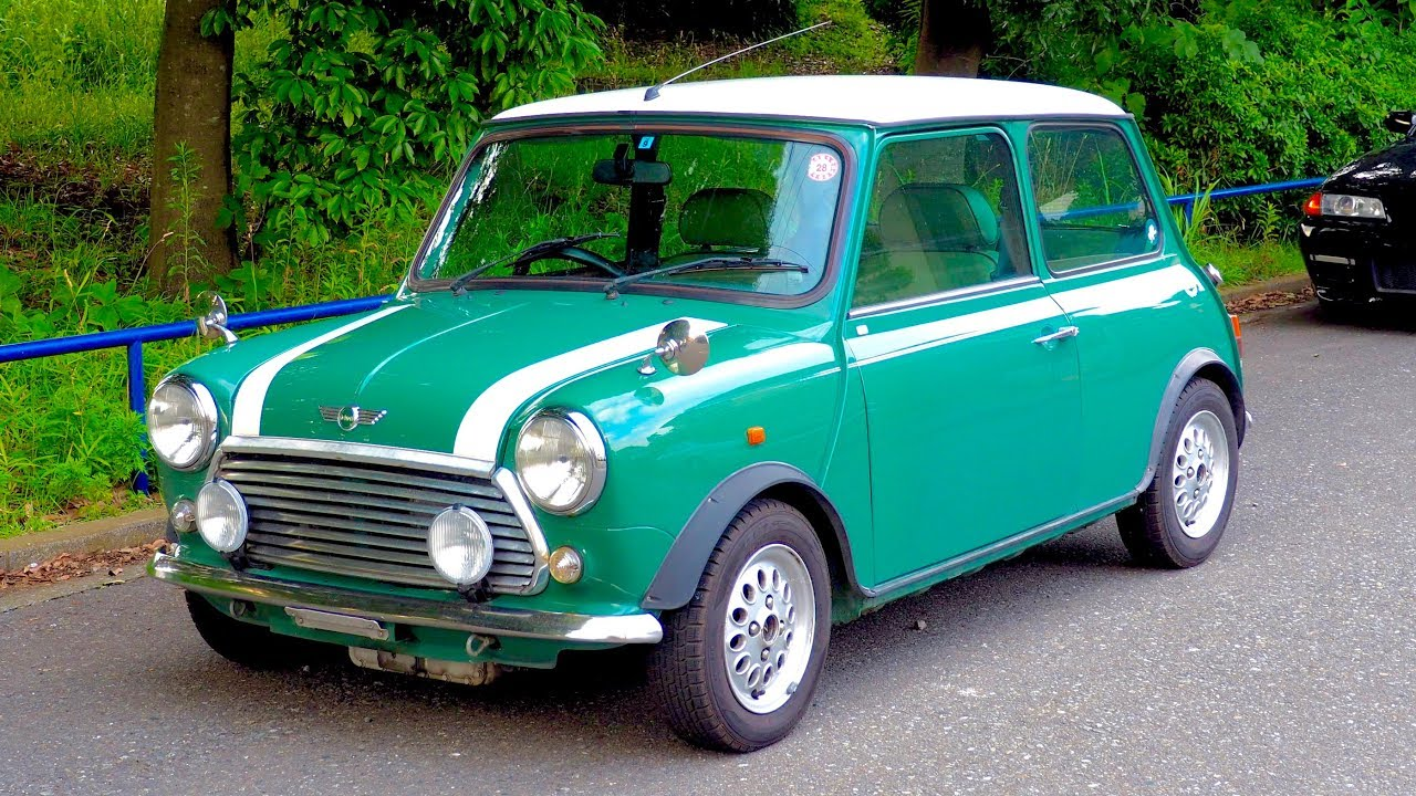 1999 classic mini cooper automatic transmission 1300cc canada import japan auction purchase review [ 1280 x 720 Pixel ]