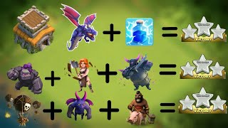 Top 3 TH8 ATTACK STRATEGIES 2018 | NEW  ATTACK STRATEGIES FOR WAR AND FARMING CLASH OF CLANS.