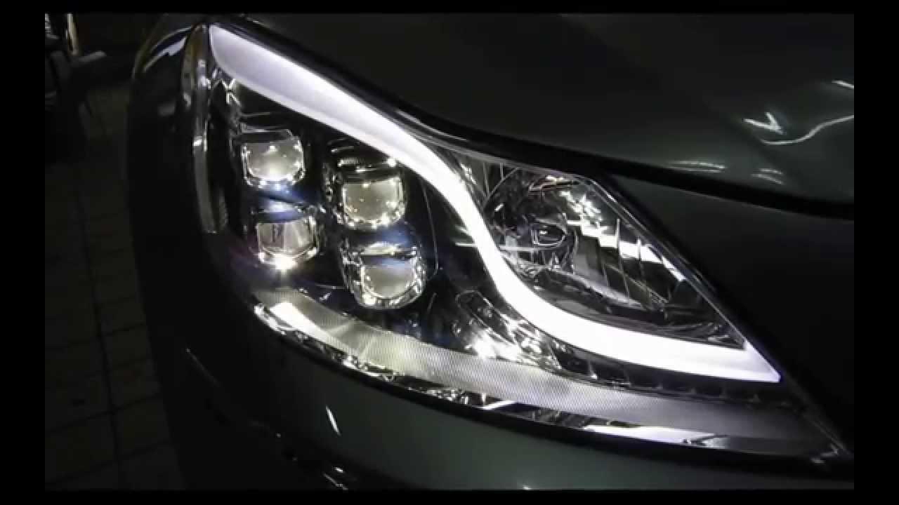 Genesis LED Headlight AFLS  Auto Leveling  YouTube