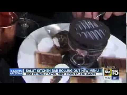 Salut Kitchen Bar featured on ABC15 Phoenix