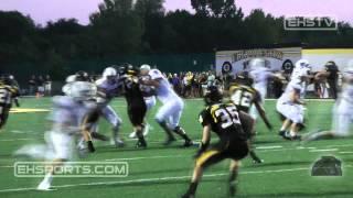 EHSports.com - #7 Ben Gramke completes a touchdown pass to #3 Jeff Vorherr