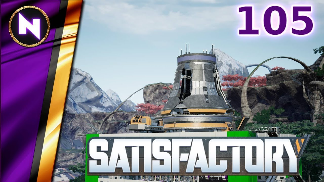 NUCLEAR PLANT - Satisfactory City #105