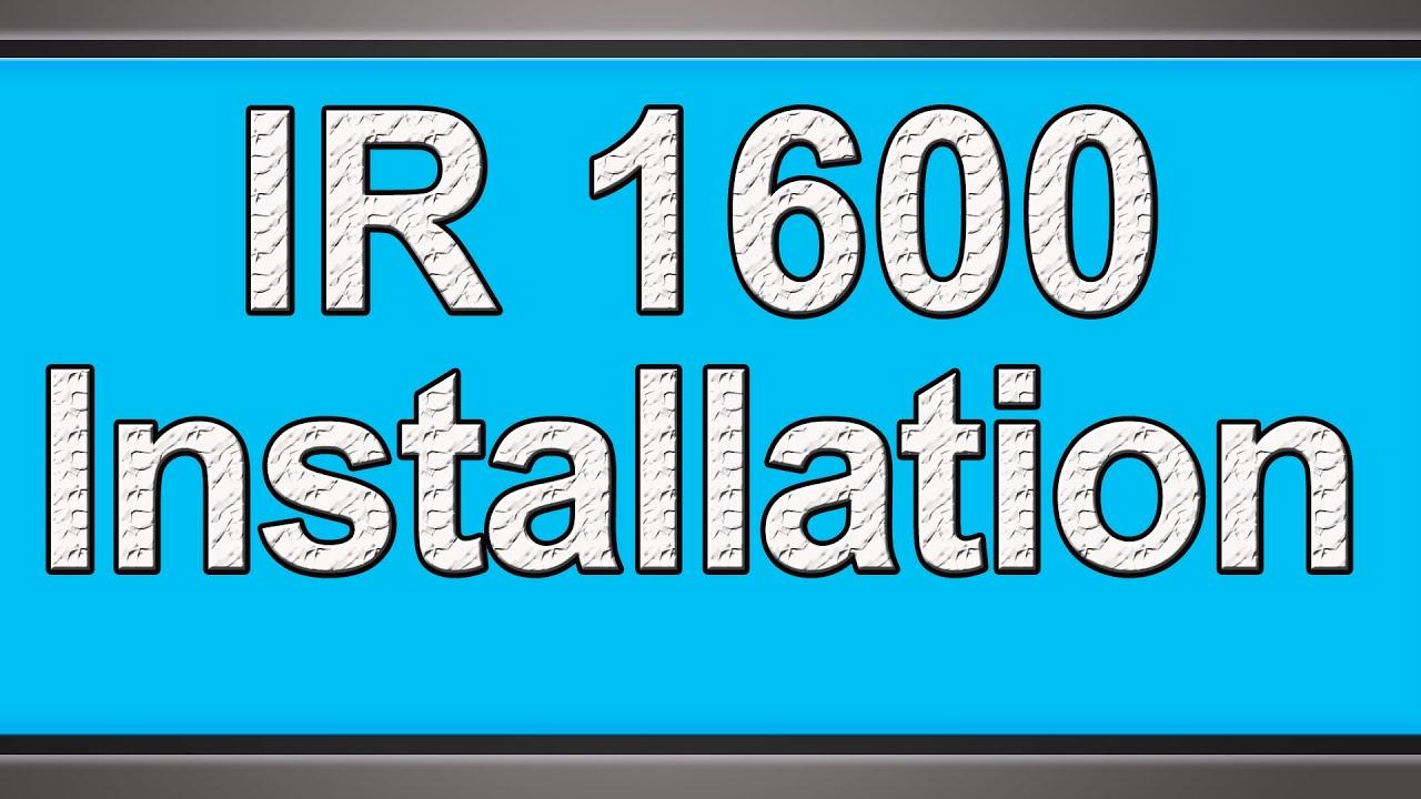 canon ir1600 installation youtube rh youtube com canon ir 1600 manual canon ir 1600 parts manual