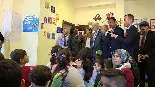 فيديو..أوروبا تطلق أكبر مشروع إنساني لدعم اللاجئين بتركيا